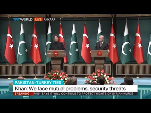 PM Imran Khan Joint Press Conference with Tayyip Erdogan at