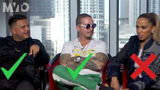 J Balvin Anitta And Jeon Confess If They Like To Sleep Naked Sessions The MVTO