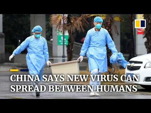 China Confirms New Coronavirus Can Be Transmitted Between Humans