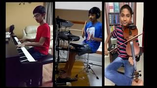 Titanium by David Guetta ft.Sia Instrumental cover