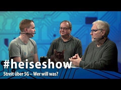 Streit über 5G – Wer will was? | #heiseshow