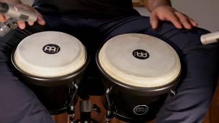MEINL Percussion Latin Styles on Bongos - HFB100BK