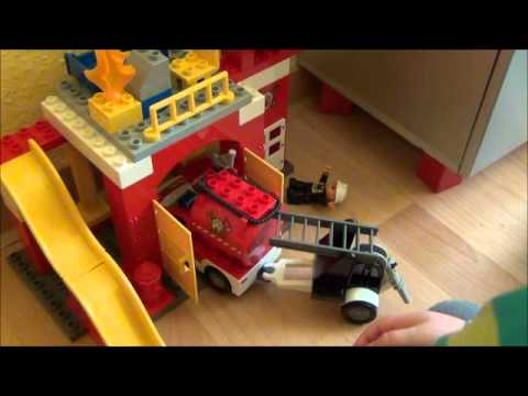 Die Neue Lego Duplo Feuerwehr 2012 Youtube