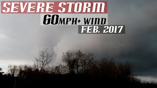 Watertown NY | Strong Thunderstorm | February 2017
