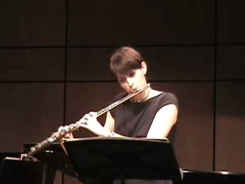 Nina Perlove, flute plays Achat Sha'alti by Paul Schoenfield REUPLOADED