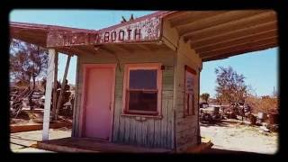 Yucca Valley, California - a gem in the desert -Swap meet entrance Booth