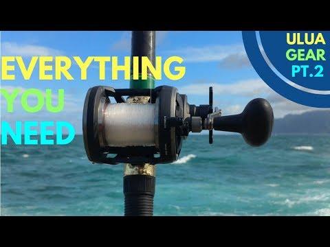Hawaii Fishing Tips: Ulua Fishing Gear(EVERYTHING YOU NEED)