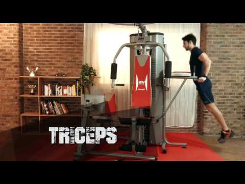 Bh fitness g sport home multi gym exercise guide demonstration