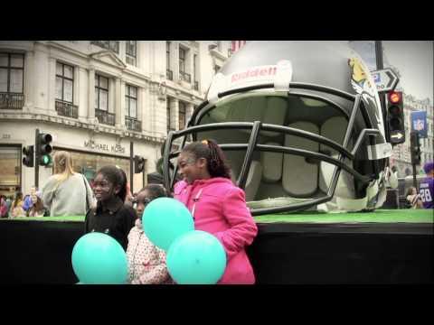 Regent Street - Regent Street Festival 'NFL on Regent Street' 2013