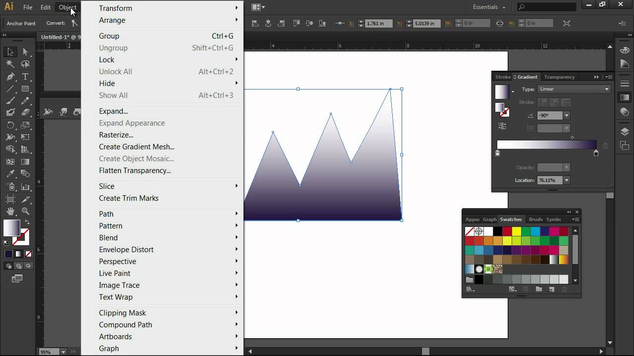 Distorting with Crystallize & Wrinkle in Adobe Illustrator CS6