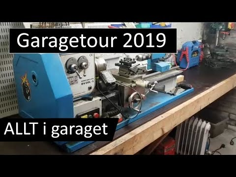 Garage Tour 2019 - Välkommen in i mitt garage!