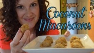 Coconut Macaroon Recipe - Vegan, Plant Based