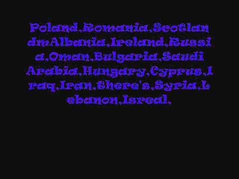Nations Of The World Lyrics