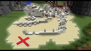 ZOEK ALLE ZELDZAME DINO BOTTEN! (Minecraft)