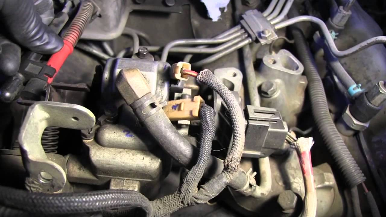 1989 Ford F350 Idi 73 Liter Fuel Injection Pump Removal Youtube 1986 F250 Diesel Filter