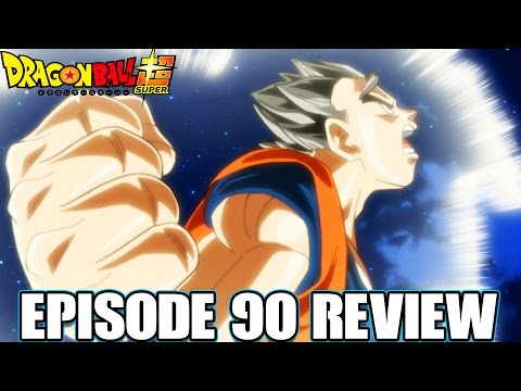 Dragon Ball Super Episode 90 Review Facing The Wall That Must Be Overcome! Goku Vs Gohan