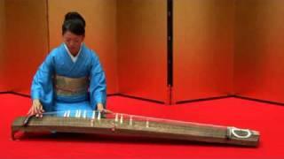 伝統音楽デジタルライブラリー 箏演奏 「千鳥の曲」