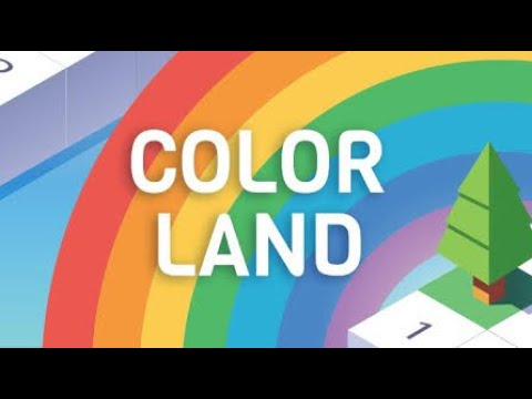 Color Land - Build by Number (by Jelly Button Games LTD) IOS Gameplay Video (HD)