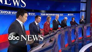 Former Vice President Joe Biden addresses trailing in Iowa l ABC News