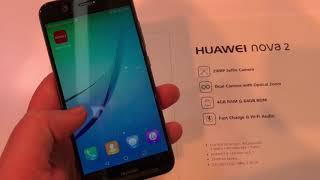 Huawei Nova 2 Hands On CES 2018