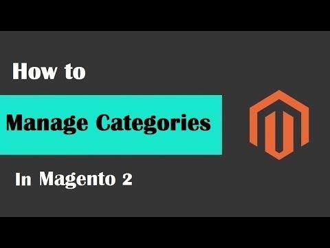 Magento 2 Tutorial Lesson #4 | #ManageCategoriesInMagento2