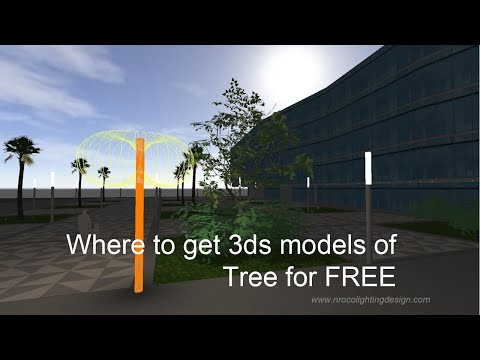 Where to get 3ds models of Tree for FREE