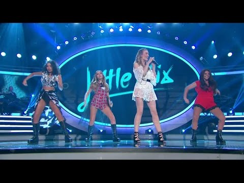 Little Mix performs