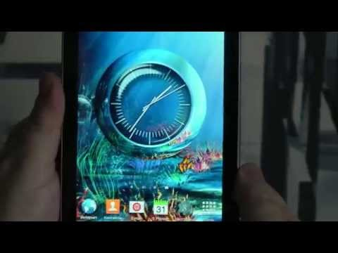 Clock Coral Reef for OS Android