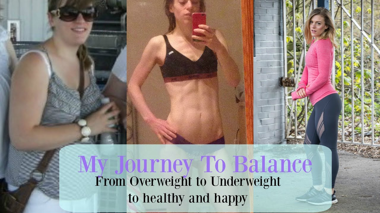 My Journey To Balance Overweight Teen To Underweight Student To Healthy Happy Youtube