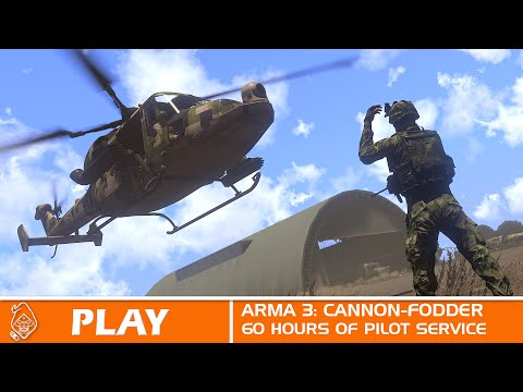 Arma 3 60 hours service as a pilot highlights