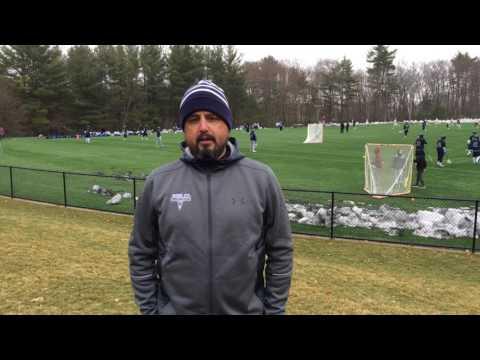 Matt Rowley, Noble & Greenough Varsity Lacrosse Coach  March 25, 2017