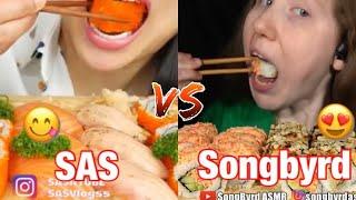 SAS ASMR vs Songbyrd ASMR