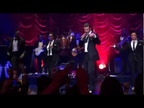 Justin Timberlake Performing Rock Your...