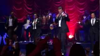 Justin Timberlake Performing Rock Your Body & Shake Your Body (Down To The Ground) At The Palladium