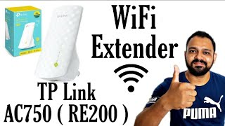 TP-LINK AC750 Wifi Range Extender Unboxing Setup amp Review RE200 Dual Band WiFi Extender E09