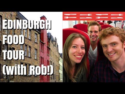Scottish Food and Edinburgh city tour in Scotland