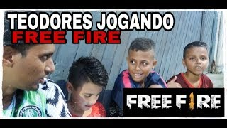 TEODORES JOGANDO FREE FIRE - SERÁ QUE SABEM MESMO