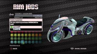 Saints Row The Third How To Change Tron Bike/Light Cycle Colour