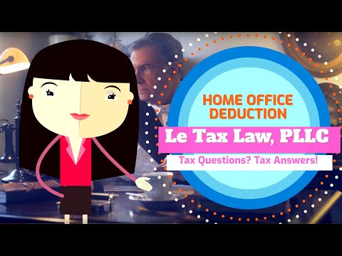 Le Tax Law - Home Office Deduction