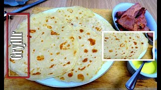 How To Make Crepes Without Eggs And Milk Youtube