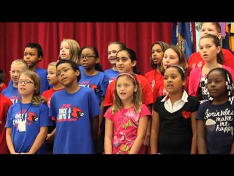 Naturalization Ceremony at Cunningham Creek Elementary School