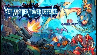 Yet Another Tower Defence Early Gameplay - INTRO - HD Gameplay 1080P
