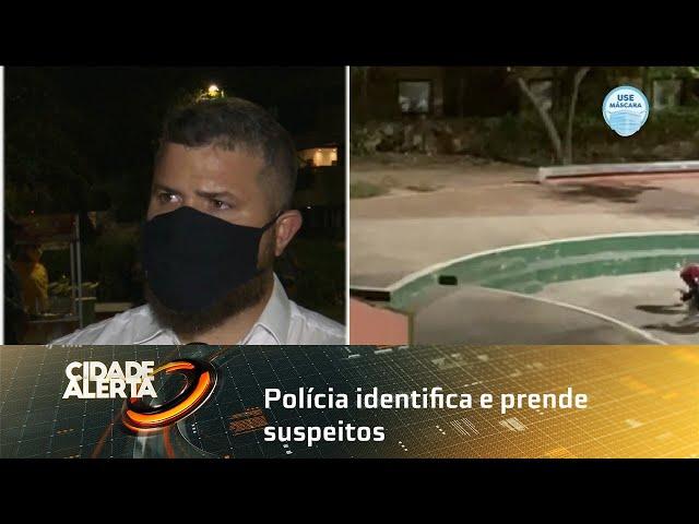 Polícia identifica e prende suspeitos depois de vídeo viralizar nas redes sociais