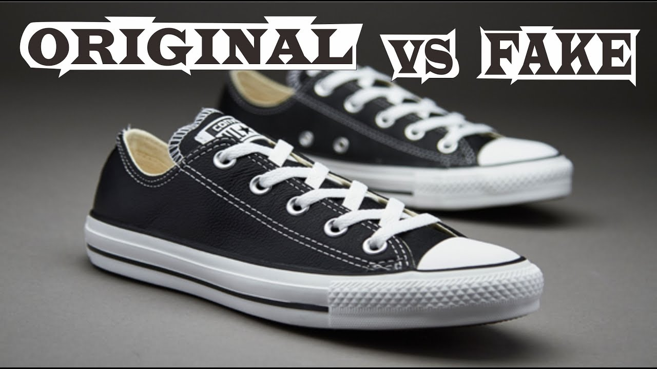 många fashionabla nytt billigt begränsad garanti Converse Chuck Taylor All Star Low Original & Fake - YouTube