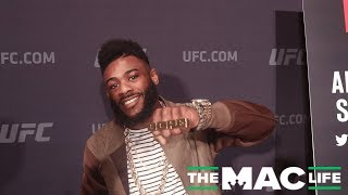 Aljamain Sterling is feeling and looking 'Dope' at the UFC on ESPN 1 Media Day