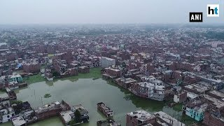 Flood-like situation in Prayagraj as Ganga & Yamuna swell due to rains