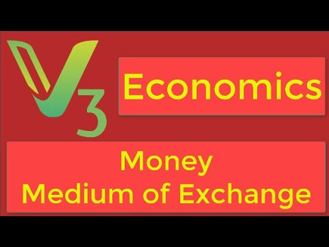 Economics : Money : Medium of Exchange : Class 12