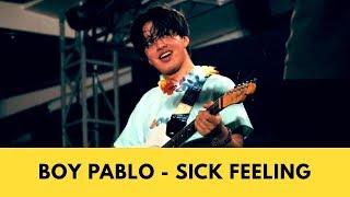 Boy Pablo - Sick Feeling Live at LOKATARA FEST 18