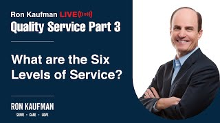 Ron Kaufman - Quality Service LIVE Part 3
