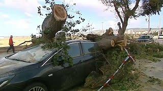La tempête Leslie a épargné le Portugal, mais pas la France